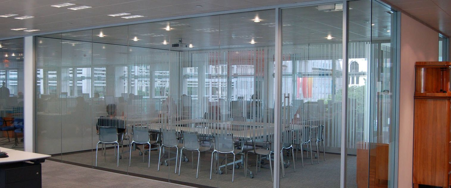 Aluminium and Glass Office Partition in Kenya