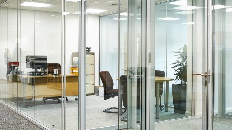 aluminium and glass partitioning in Kenya